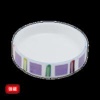 (強)紫だみ十草 切立丸小皿    く09-087-30 寸法:8φ×2H㎝ 100g