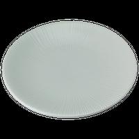 千段 青磁 千段7.5皿    く09-070-09 寸法:φ23.7×3.4H㎝ 570g