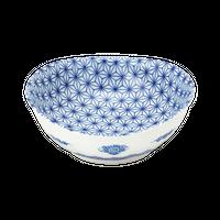 麻の葉 楕円3.0鉢    く09-023-43 寸法:9.5×9×3.5H㎝ 100g