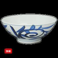 (強)太唐草 4.5大茶(身)    く09-110-18 寸法:13.5φ×5H㎝ 220g