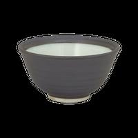 黒マット 千茶    く09-118-33 寸法:9.8φ×5.2H㎝ 100g