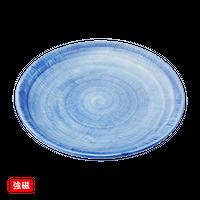 (強)ごす巻黄マット(布目)9.0丸皿    く09-062-30 寸法:27φ×2.5H㎝ 900g