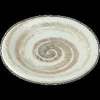 東風 石目7.0皿    く09-069-15 寸法:23φ×3.5H㎝ 600g