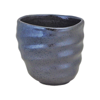 北山 酎杯コップ(特大)    く09-126-10 寸法:9.5×9×9H㎝ 360㏄ 250g