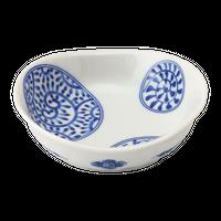 丸紋 楕円3.0鉢    く09-026-23 寸法:9.5×9×3.5H㎝ 120g