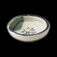 織部 豆小皿    く09-027-30 寸法:5.5φ×2H㎝ 40g