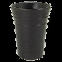 瀬戸黒 チューハイカップ    く09-125-04 寸法:9.1φ×12H㎝ 410㏄ 295g