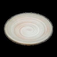 手造粉引刷毛目 3.3丸皿    く09-084-29 寸法:10φ×2H㎝ 90g