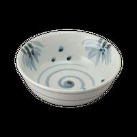青磁笹渦 4.0玉割    く09-092-21 寸法:11.5φ×4.5H㎝ 150g
