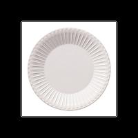 ストーリア ラスティックホワイト 16cmプレート    496-16710008 寸法:16φ×1.6H㎝