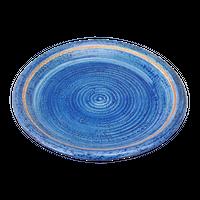 荒土ごす染 7.5丸皿    く09-069-04 寸法:22.5φ×2.5H㎝ 500g