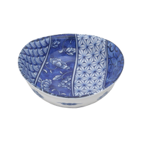 牡丹祥瑞 楕円3.8鉢    く09-093-25 寸法:11×10.5×4.5H㎝ 170g
