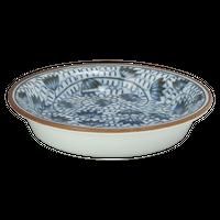 唐草みじん 薬味皿    く09-130-04 寸法:8.5φ×1.5H㎝ 50g