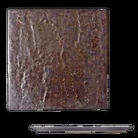 金結晶 石肌正角24cm皿    く09-058-12 寸法:24.5×24.5×1.2H㎝ 840g