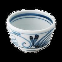 太唐草 3.0竹形丼    く09-020-23 寸法:8.5φ×5.5H㎝