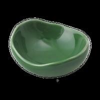 緑 楕円珍味    く09-028-20 寸法:6×5×2.5H㎝ 40g