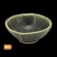 (強)織部 戸締小鉢    く09-018-06 寸法:12.5×12.5×4.9H㎝ 180g