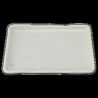 志野 のり皿    く09-083-18 寸法:14×10×2H㎝ 210g