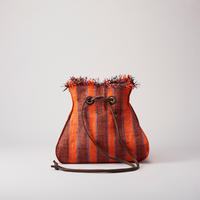 Ele`Sac RaffiaDrawstrings(Orange)