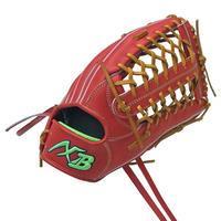 アクセフベルガード硬式外野手用グローブ(高校野球対応・プレミアムステアレザー)右投げ