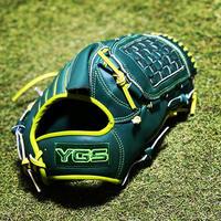 YGSセンスシリーズ 軟式投手用 YP2 ダークグリーン×ライム×蛍光グリーン