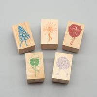STAMP   - flower blooms -