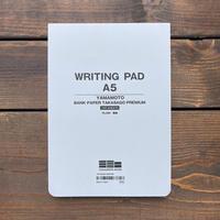 WRITING PAD A5 / BANK PAPER TAKASAGO PREMIUM