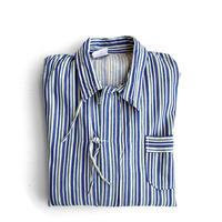 Bulgarian Army Pajama Shirt Blu/Grn Stripes