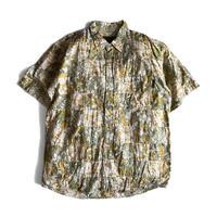 Stussy Hawaiian Patchwork Shirt For 20th Aniv.