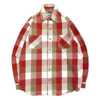 80's BIGMAC Flannel Shirt BL Check