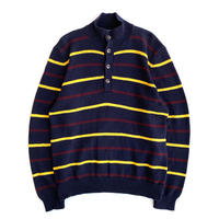 POLO  High Necked Button Sweater