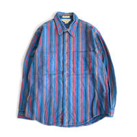 ST.JOHN'S BAY BIGMAC Flannel Shirt Stripe