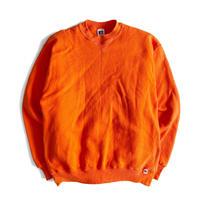 90's RUSSELL Sweat Shirt L Orange