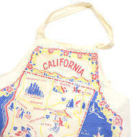 50's California Map Apron