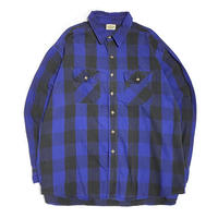 80's FIVE BROTHER Flannel Shirt