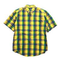 GAP Madras Check B.D Shirt 1990's