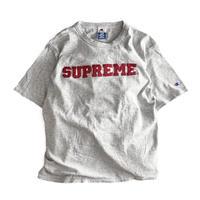 Supreme x CHAMPION Harvard T Shirt Grey/Wine
