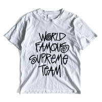 WORLD FAMOUS Tee by stussy x supreme