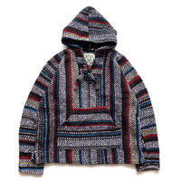 BAJA JOE Drug Rugs MEXICAN PARKA Tricolore