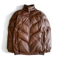 Supreme Leather Down JKT