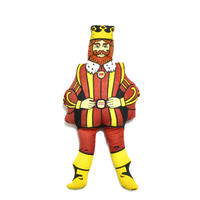 BURGER KING OLD MASCOT PILLOWDOLL
