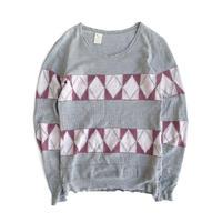 N.HOOLYWOOD Jacquard Thermal Shirt