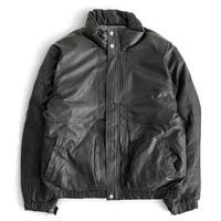 Eddie Bauer Leather Down JKT