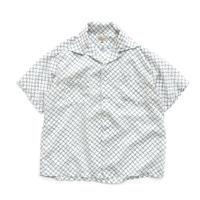 1950's MAY Co. Nylon Open Collar Shirt