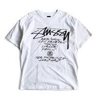 Stussy x FUTURA WORLD TOUR Tee