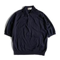 90's JOHN SMEDLEY S/S Cotton Knit Shirt