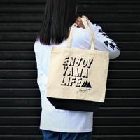 【オリジナル】ENJOY YAMA LIFE キャンバストートバッグ【d-iZe】