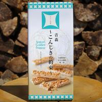 【おみやげ】青天の霹靂 お米のサンドクッキー「こんじきの約束」(12本入り)