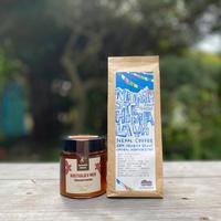 コラボ企画第2弾 「ハチミツとコーヒーのマリアージュ:クリの木」(スロベニア×ネパール)