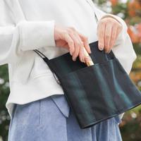 【伝統工芸×アウトドア】小倉織サコッシュ